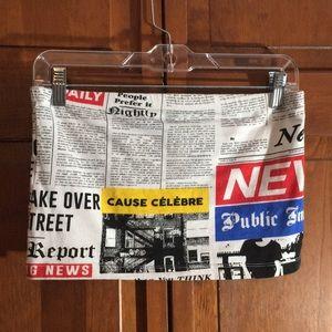 Newsprint Tube Top